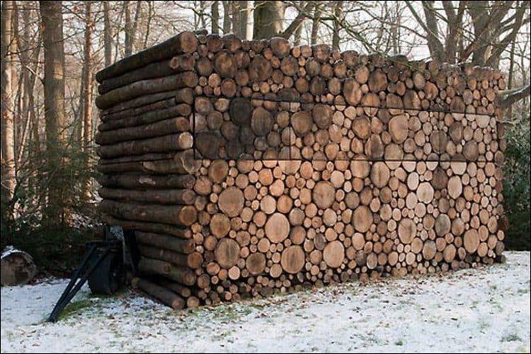 Stacking Firewood - Stacking Firewood