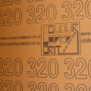 320 grit 10m x 300mm