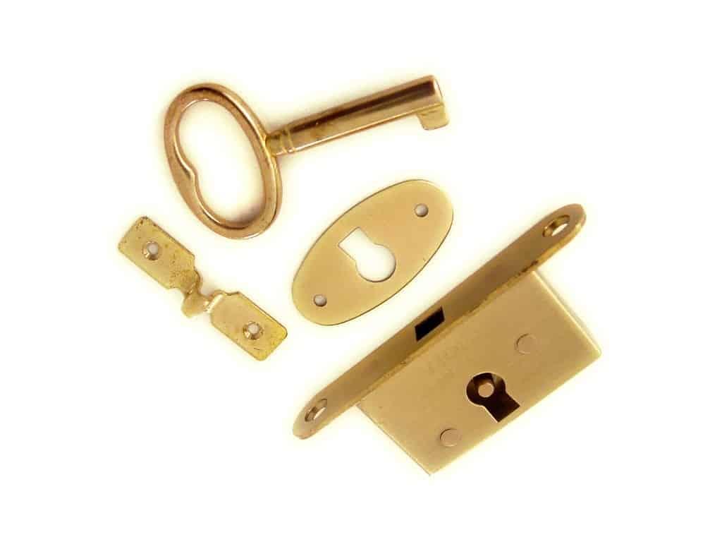 Mini Lock Set Full Mortice (set)