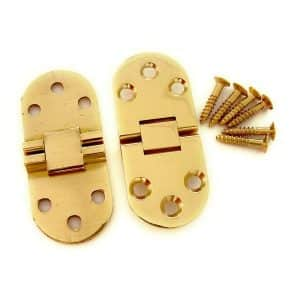 70mm x 30mm x 2.5mm hinges without lock (1 pair)