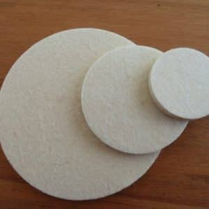 Polishing Pads 75mm - Hardware for Creative Finishes - Veneer Inlay Australia