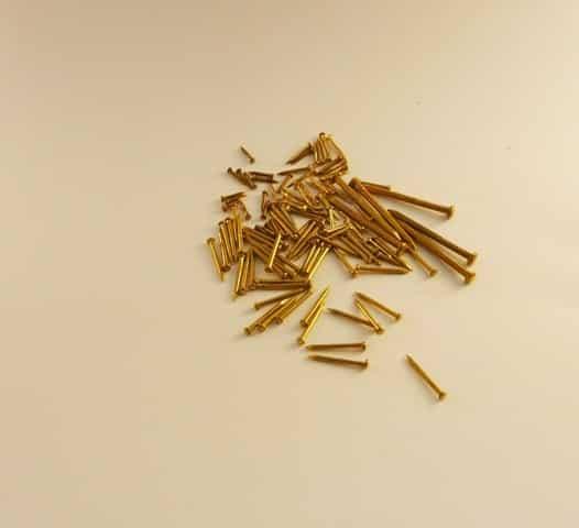 15mm x 1.0mm x 2.5mm Head Diam. (500 pins)