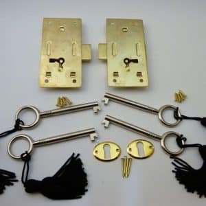 Brass plated Steel Cabinet Door Locks