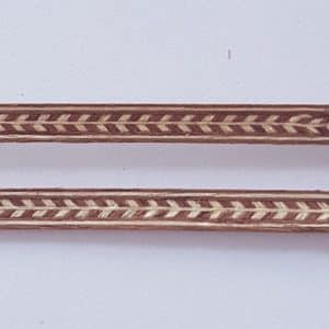 Veneer Inlay Lengths - 2 Lengths A2058a
