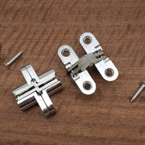 Invisible Hinges Stainless Steel/Alloy 13mm x 45mm
