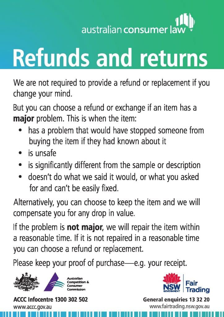 Returns -