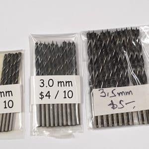 Brad Point Drill Bits - Hardware for Creative Finishes - Veneer Inlay Australia