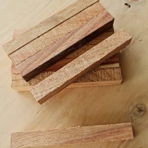 New Guinea Rosewood Pen Blanks